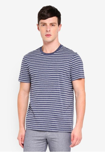 J.Crew navy Broken-In T-shirt 2425DAA549DDEDGS_1