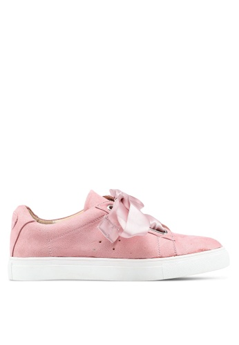 Carlton London pink Bow Sneakers FACFASH2F8EF1EGS_1