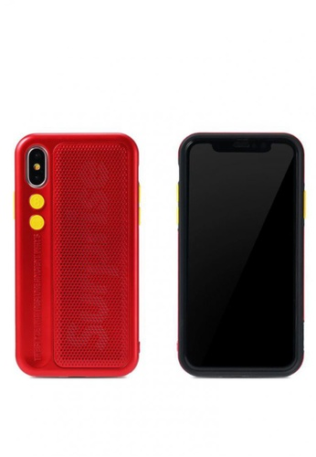 Stylebox red Remax RM-1656 Fantasy Series Case for iPhone X 97B53AC35446F4GS_1