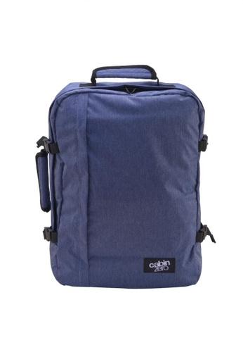 CabinZero blue Cabin Zero Classic Ultra Light Cabin Bag  44L (Blue Jean) B7ABDAC850BBC3GS_1