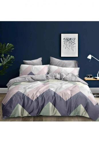 Bedding Day Bedding Day - Soft Microfiber Print 700TC Fitted Sheet Set - Arcat 2F8DAHLA821EB8GS_1
