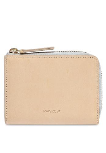Rawrow beige Zip 182 Wallet FC455ACAC54D59GS_1