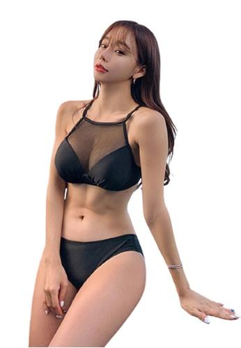 Halo black Sexy Swimsuit Bikini FBDE4US9672D16GS_1