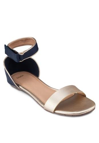 一字帶繞踝esprit 包平底涼鞋, 女鞋, 鞋