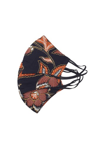 Locally Blend black L.Blend Batik Semar Masker Earloop 1 pck isi 3 pcs Seri 9 033E3ES905B41DGS_1