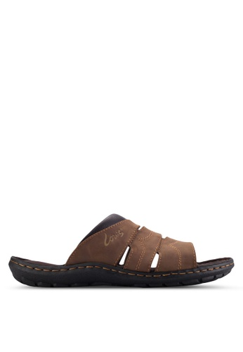 Louis Cuppers brown Casual Sandals LO977SH50BAFMY_1