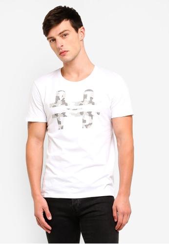 ESPRIT 白色 短袖T恤 E6EA7AAD819408GS_1