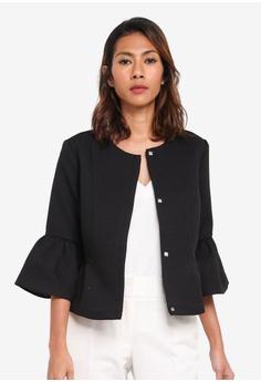 Vero Moda black Miss Short Jacket B4AE3AAA28E2B7GS_1
