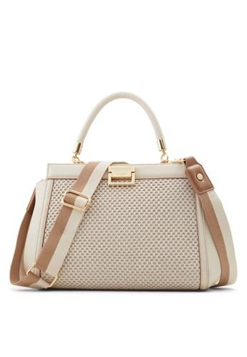 ALDO beige Killara Top-Handle Bag 5FE60AC9343DA7GS_1