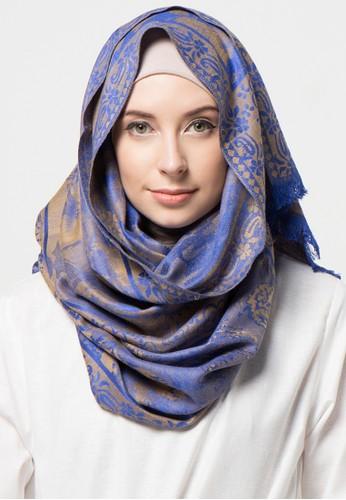 SHALIMAR blue Shalimar Pashmina Jasmine Style SH713AA07CLGID_1