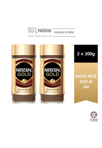 NESTLE Nescafe Signature Gold Jar 200g, Bundle of 2 358BEES0F02D4BGS_1