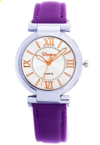 Digitec purple Fashion Geneva 007 - Jam Tangan Wanita - Silver Ungu DI108AC0VQH9ID_1