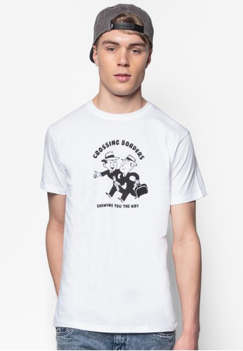 移工圖文設計TEE, 服飾, 印esprit 寢具圖T恤
