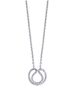 Austere Silver Necklace
