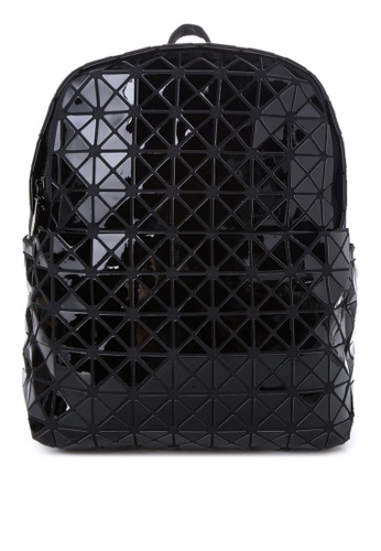 Chase Fashion black Geometric Shape Backpack CH547AC76FHNPH_1