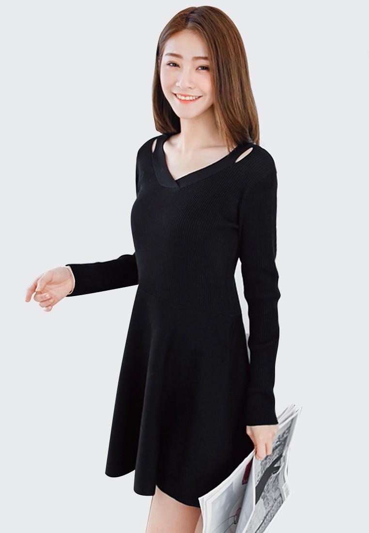 Twirl Around Knit Dress
