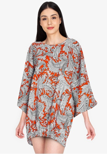 Maria Elena orange Juliana Dress 09214AACB1B85AGS_1