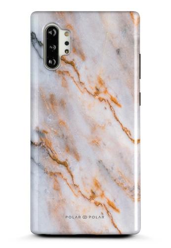 Polar Polar brown Coffee Cream Samsung Galaxy Note10 Plus Dual-Layer Protective Phone Case (Glossy) F95B2ACCAC4746GS_1