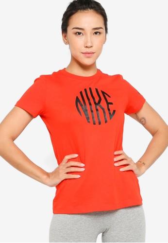 Nike red Icon Clash Tee EBF6DAA16726BEGS_1