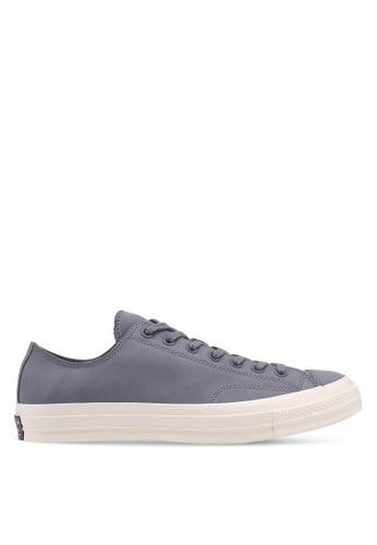Converse grey Chuck Taylor All Star 70 Equinox Ox Sneakers DF335SHD30BC07GS_1