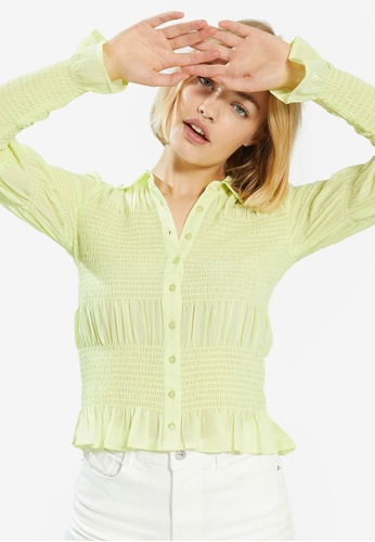 PIMKIE green Fitted Blouse FA8C0AA61FA1AAGS_1