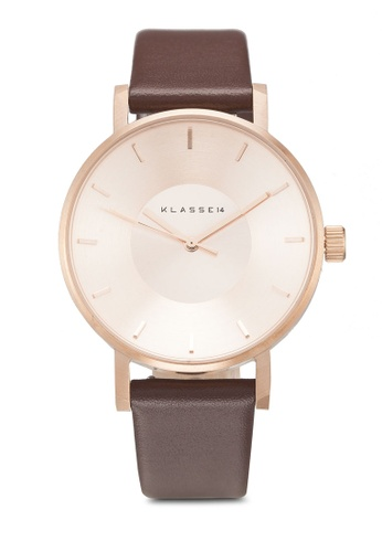 Klasse14 brown Volare Classic 36mm Rose Gold/Brown 33F6CACC42087CGS_1