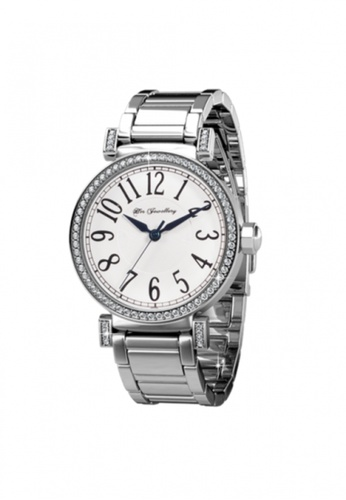 Her Jewellery white and silver Simplicity Watch (White) -  Embellished with Crystals from Swarovski® HE210AC58TENSG_1