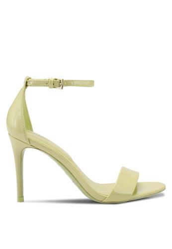 ALDO green Cally Heeled Sandals 03C3DSH6B6A9E0GS_1