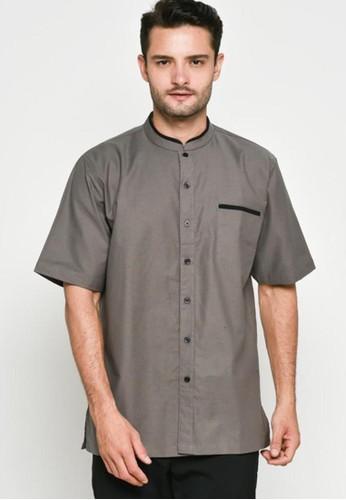 9 to 12 grey Darcy Shirt Kemeja Pria 16E85AA26F4FDDGS_1