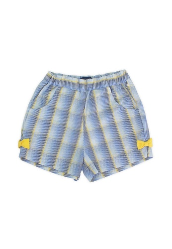 PERIWINKLE blue Irissa Girls Shorts C1C65KAAA861B4GS_1