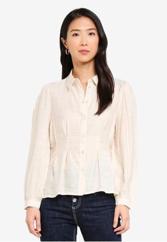 Vero Moda beige Clover Shirt 459C0AA47132B8GS_1