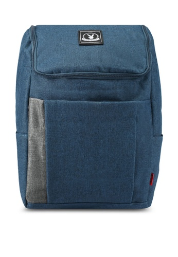 Playboy blue Playboy Casual Backpack PL371AC0SJZYMY_1