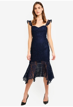 f9e83950633 20% OFF Forever New Rosa Lace Hanky Hem Dress S$ 199.99 NOW S$ 160.00  Available in several sizes