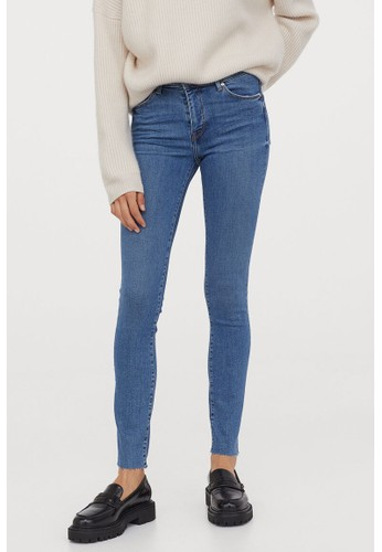H&M blue Shaping Skinny Regular Jeans C4C9EAA8BC4AA9GS_1