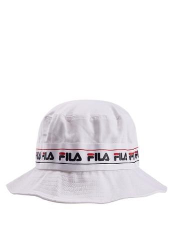 Najlepiej gorący produkt najlepszy dostawca FILA Logo Taping Bucket Hat