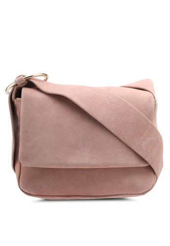 Mango pink Leather Cross Body Bag 020ABAC6D1F093GS_1