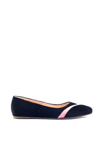 M&G pink Demi Flats by M&G 6FF4BSH656334AGS_1