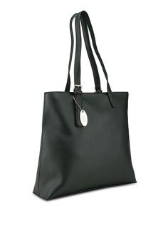 e4b3fb8d19 20% OFF Perllini Mel Faux Leather Double Handle Shoulder Bag RM 150.90 NOW  RM 120.90 Sizes One Size