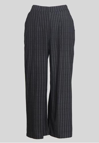 Le Reve black Le Reve Love Striped Pants 17903AA5C011D0GS_1