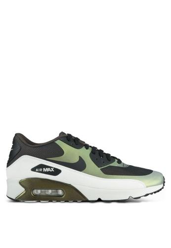 Nike green Men's Nike Air Max 90 Ultra 2.0 SE Shoes NI126SH0SFAUMY_1