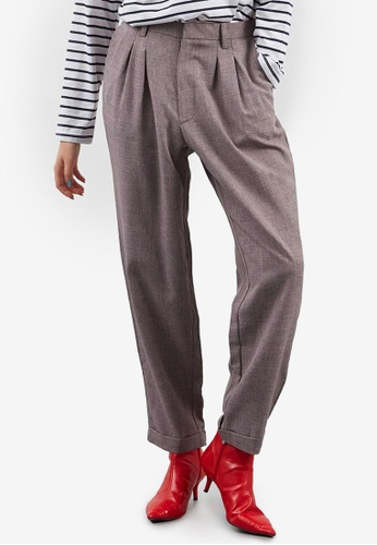 Berrybenka grey Bertie Pants 1AF72AA6182575GS_1