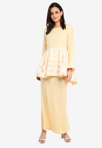 Buy Gene Martino Kurung Peplum Lace Online  37389a97d4