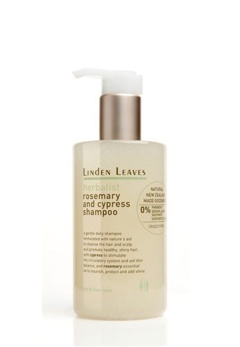 Linden Leaves Linden Leaves Herbalist Rosemary and Cypress Shampoo LI526BE82WTHMY_1
