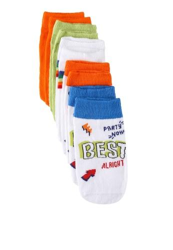 LC Waikiki multi 5-packs Boy's Trainer Socks 00E9BKAA72510BGS_1