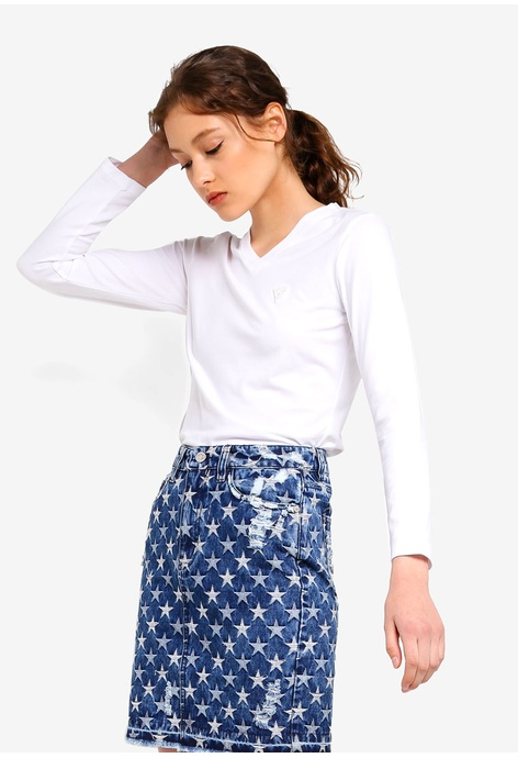4f05dbed2608d Buy Guess Tops For Women Online on ZALORA Singapore
