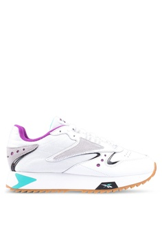741520a6ed5 Reebok white Classic Leather Alter The Icons 90 s Shoes B606BSH5A3CE46GS 1