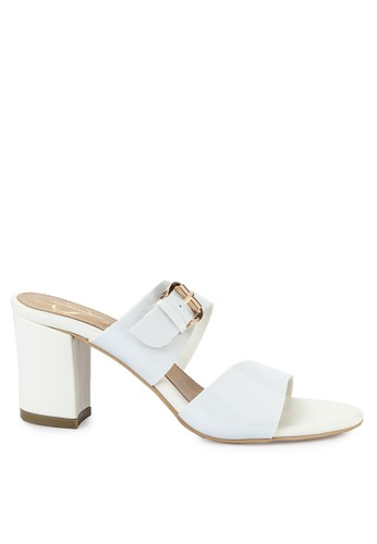 Mandy's white Mandys Iviona White Heels FF4B7SH637138EGS_1