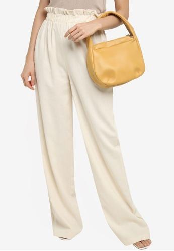 Red's Revenge yellow Ari Round Top Handle Bag 66320ACF60D6D5GS_1