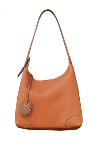 Twenty Eight Shoes brown VANSA Simple Leather Crossbody Bag VBW-Hb8905 A90CAAC9CBC108GS_1