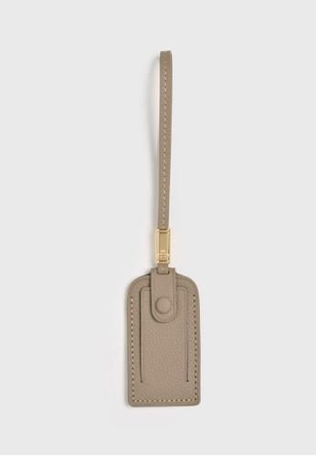Tocco Toscano grey Aimee Luggage Tag (Grey) 2B916ACCFE7E37GS_1
